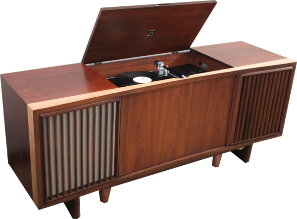 Mid-Century Vintage Stereo Consoles: Model VC