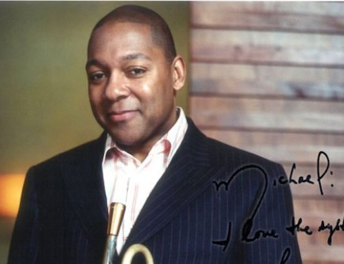 """Michael: I love the system!"" — Wynton Marsalis • jazz trumpeter"